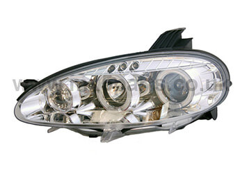 Headlamp Set, Chrome With Angel Eye, MX5 Mk2.5 2000>2005