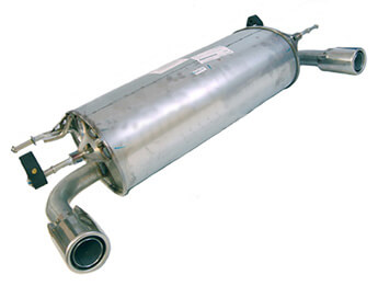 Standard Rear Silencer, Genuine Mazda, Mk3/3.5/3.75