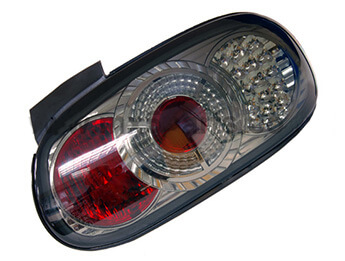 Rear Lamp Set, LED, Smoked, RHD MX5 Mk2/2.5