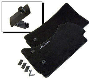 Carpet Mat Set, Genuine Mazda, MX5 Mk3.5 RHD, 2008>