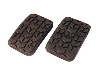 Brake & Clutch Pedal Rubbers, Pair, MX5 Mk1/2/2.5
