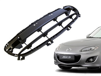 Front Bumper Grille, Bar Type, MX5 Mk3.5