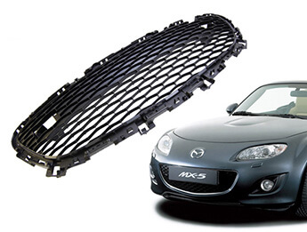 Front Bumper Grille, Mesh Type, MX5 Mk3.5