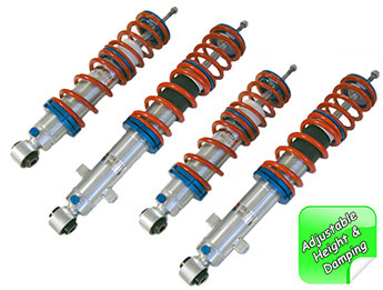 Vmaxx Xxtreme Adjustable Height & Damping Coilover Kit, Mk1