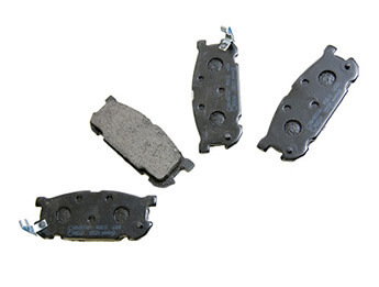 Rear Pads, Mintex, MX5 Mk2/2.5 Big Brake
