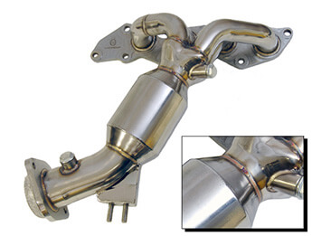 Stainless Steel Exhaust Manifold With Cat, MX5 Mk3/3.5/3.75