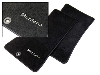 Carpet Mat Set, Genuine Mazda Special Edition, Montana
