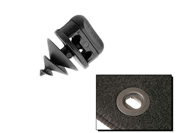 Carpet Mat Securing Clip, All MX5 Models 1989>