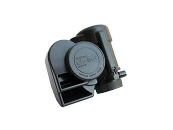 12V Stebel Nautilus Compact Tuning Air Horn, Black
