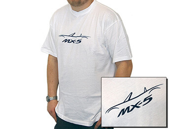 MX-5 T-Shirt, White