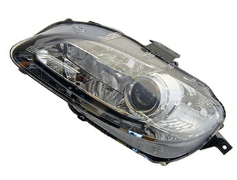 Headlamp, HID With Chrome Bezel, LHD MX5 Mk3.5
