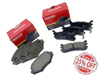 25% Off Mintex Brake Pad Bundle, MX5 Mk1 1.8
