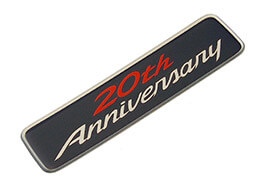 Special Edition Badge, 20th Anniversary, MX5 Mk3.5