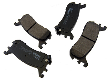 Rear Pads, Budget, MX5 Mk1 1.8 & Mk2/2.5 Standard Brake