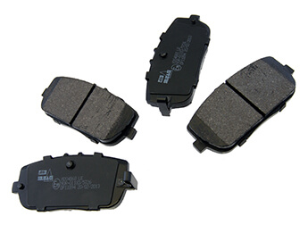 Rear Brake Pads, Budget, MX5 Mk3/3.5/3.75