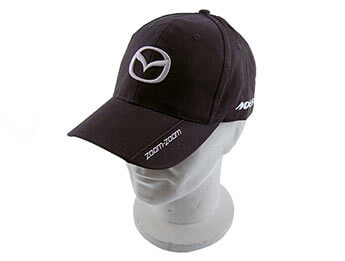 Cap, Black With Mazda & MX-5 Logos