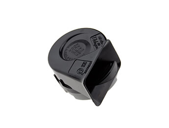 12V Stebel TM80 Magnum Electromagnetic Horn, Single, Black