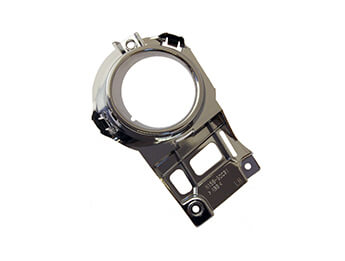 Front Fog Lamp Bezel, Chrome, MX5 Mk3 With Factory Fog Lamps