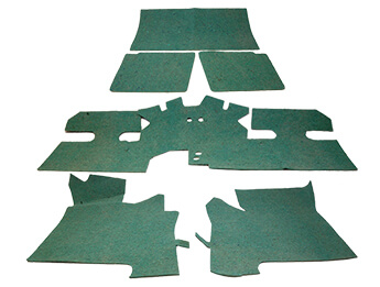 Carpet Set Underfelt Kit, MX5 Mk1/2/2.5