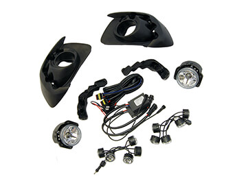 LED Daytime Running Lights With Fog Lamps, MX5 Mk3.75