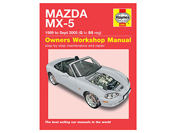 Haynes Owners Workshop Manual, MX5 Mk1/2/2.5
