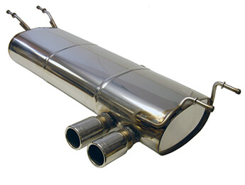 Stainless Steel Sports Exhaust System, MX5 Mk4