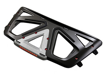 Boot / Luggage Rack, Carbon Fibre, MX5 Mk4