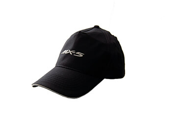 Cap, Black With MX5 Logo