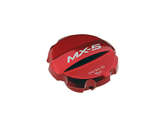 Oil Filler Cap, Red, MX5 Mk4