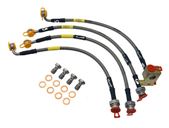 Brake Hose Set, Goodridge, MX5 Mk1/2/2.5 Standard Brake