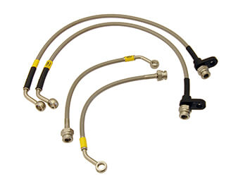 Stainless Steel Brake Hose Set, Hel Performance, MX5 MK4