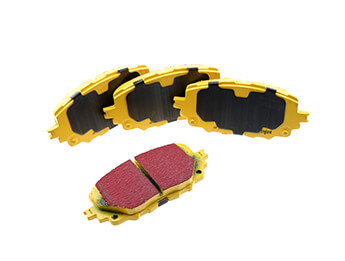 Front Brake Pad Set, EBC Yellowstuff, MX5 Mk4