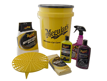 Meguiars Bucket Wash & Wheel Kit