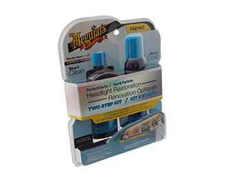 Meguiar's Headlamp Restoration Kit, 2 Step