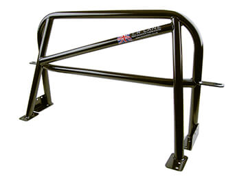 TR Lane Right Hand GP Roll Bar With Harness Bar, MX5 Mk1/2/2.5