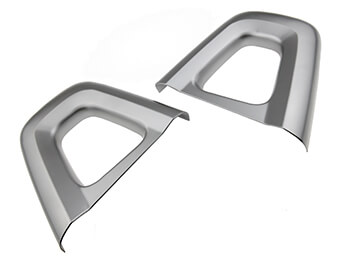 Silver Seat Back Bar Covers, IL Motorsport, MX5 Mk4