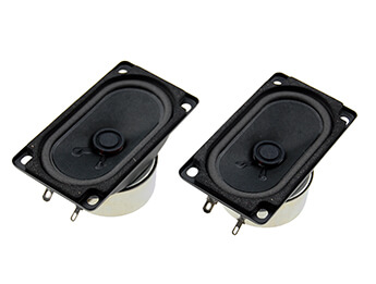 Headrest Speakers, Pair, MX5 Mk1