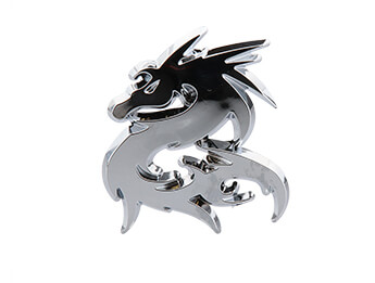 Chrome Dragon Badge, All MX5 Models
