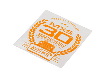 30th Anniversary Window Sticker