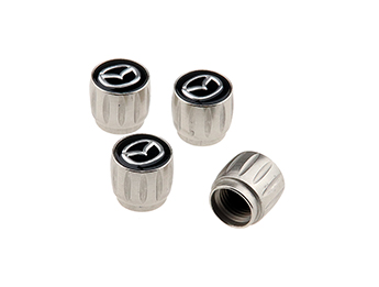 Valve Cap Set, Genuine Mazda, All MX5 Models 1989>