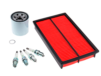 Service Kit, Oil & Air Filters & Spark Plugs, MX5 Mk1