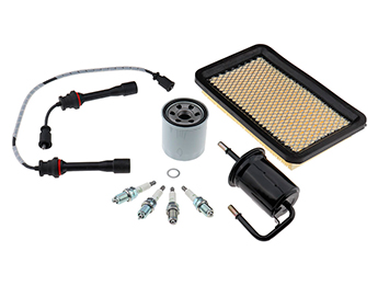 Service Kit, Oil Air Fuel Filters Leads & Plugs, MX5 Mk2.5 1.8