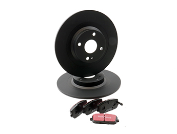 Brake Kit, Rear Discs & Pads, 2.0L MX5 Mk4 & RF