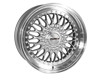 "15"" Calibre Vintage Silver Alloy Wheels, MX5 Mk1/2/2.5"