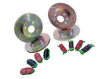 Discs & Pads Package, Sports, MX5 Mk2/2.5 Big Brake