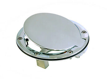 Chrome Fuel Filler Lid, MX5 Mk2/2.5