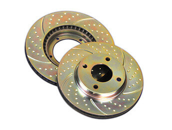 Rear Discs, EBC Turbo Groove, MX5 Mk2/2.5 Standard Brake