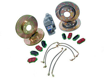 Discs & Pads Package, Ultimate Sports, MX5 Mk3/3.5/3.75