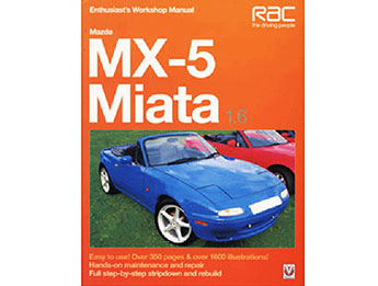 MX5 Mk1 1.6 Enthusiasts Workshop Manual