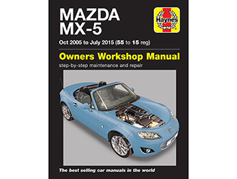 Haynes Workshop Manual, MX5 Mk3/3.5/3.75